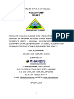 RFB DRAFT REPORT DSM