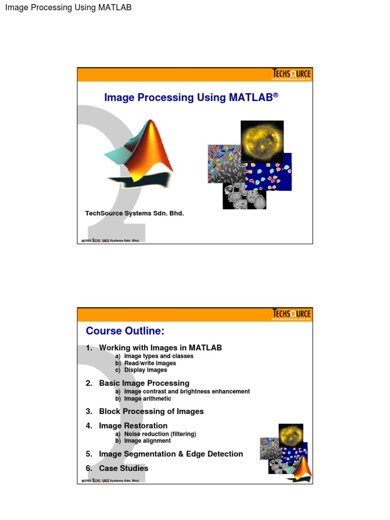 Image Processing Using MATLAB | Convolution | Rgb Color Model