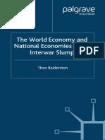 Theo Balderston - The World Economy and National Economies in the Interwar Slump (2003)