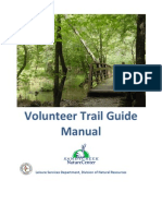 Sandy Creek Nature Center Volunteer Trail Guide Training Manual