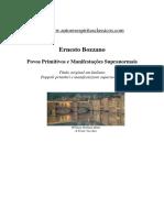 Povos Primitivos e Manifestacoes Suprano - Ernesto Bozzano