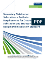 TG-NET-SST-018 Secondary Distribution Substations - Particular Requirements for Outdoor Substation and Enclosures - PETE OWEN 1