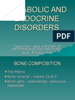 METABOLIC AND ENDOCRINE DISORDERS