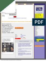 Come nasce la Repubblica. La mafia, il Vaticano e il neofascismo nei documenti americani e italiani 1943-1947 - il libro