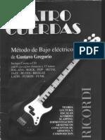 Cuatro Cuerdas(Metodo de Bajo Elect Rico)