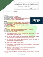 B.1.2 Ficha de Trabalho - Vida quotidiana (1) - Soluções