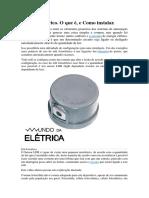 Relé fotoelétrico