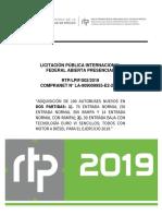 ANEXO TECNICO PARTIDA 2.-ENTRADA BAJA 30 AUT RTP-LPIF-002-2019