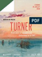 Exposition Turner au Musée Jacquemart-André