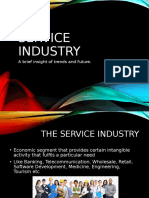 Service industry in India