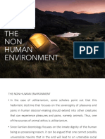 ethics- non human environment