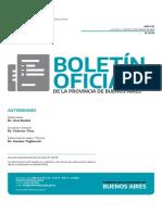 El decreto firmado por el Gobierno bonaerense