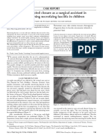 Journal - Case Report About VAC for necrotizing fasciitis in Children
