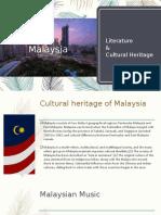 Indonesian Literature & Cultural Heritage