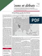 Nouvelle donne géopolitique au Proche-Orient