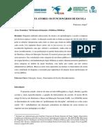 A ESCOLA E SEUS ATORES - OS FUNCIONÁRIOS DE ESCOLA