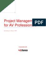 Project Managementfor AV