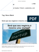 1 Steve Blank – Startup Biz Model
