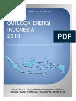 Outlook Energi Indonesia 2010