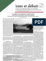 Les Suisses contre le projet européen des « espaces métropolitains »
