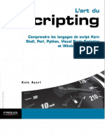 L'art du scripting _ Comprendre les langages de script Korn Shell, Perl, Python, Visual Basic Scripting et Windows PowerShell