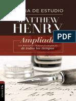 Biblia de Estudio Matthew Henry Ampliada (1 JUAN - Notas de Estudio)