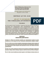 THE CORDILLERA AUTONOMOUS REGION ACT.docx