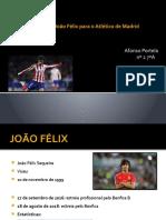João Félix no Atlético