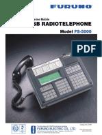 Furuno FS5000 SSB Radiotelephone Pamphlet