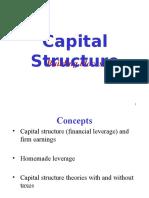 Fundamentals of Capital Structure