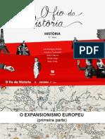 O expansionismo europeu (primeira parte)