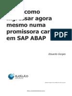 Saiba como ingressar agora mesmo numa promissora carreira em SAP ABAP
