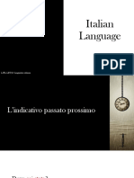 Italian Language - Lezione 4
