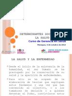 Carlos Cruz - Determinantes Sociales de la Salud