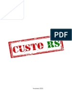 Relatório Custo RS 2020 FIERGS