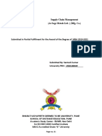supply chain managment mini report