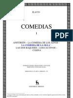 Plauto Tito Macio - Comedias I - Aulularia Bilingue