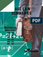 Case Law Summaries feb 21 - Feb 29