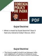 gujral doctrine