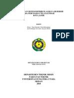Perancangan Sistem Distribusi Aliran Air Bersih