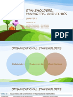 PPT OTM CH 2 STAKEHOLDERS, MANAGERS, AND ETHICHS