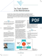 The Track System and Its Maintenance