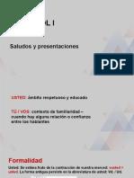 Video 2 - Aula tradicional 2 - semana 2 - SALUDOS Y PRESENTACIONES_