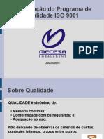 Implantação ISO 9001