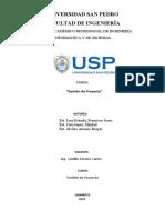 PROYECTO GESTION DE PROYECTO -LORA ESTRADA FRANCISCO