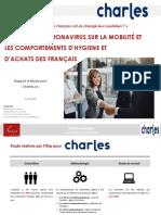Enquete Ifop x Charles.co - L'Impact Du Coronavirus Sur Le Quotidien Des Francais-es