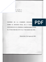 Informe Del Comandante en Jefe Del Ejercito 2005
