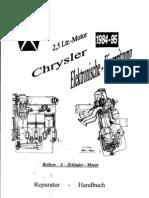2,5 L-Motor Chrysler