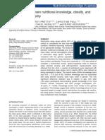 Correlation between nutritional knowledge, obesity,and sleep aphnea.pdf