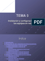 2019 Tema 5. Presentacion. Instalación y configuración de los equipos en red.pdf